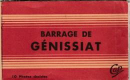 GENISSIAT (Ain) - Barrage - Lot De 7 CPSM - Génissiat