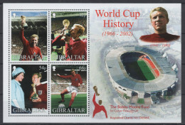 GIBRALTAR  BF 50  * *  ( Cote 10e )  Cup 2002    Football  Soccer  Fussball Stade - Coupe Du Monde