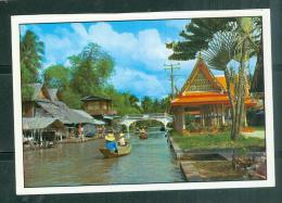 Cpas Gf -    Beautiful View Of Klong ( Canal) In Bangkok, Thailand - Lfv02 - Thailand