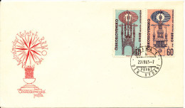 Czechoslovakia FDC Brno 1963 complete set with cachet