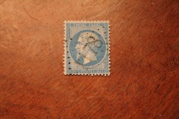 Timbre Poste 20c Empire N° 22 Oblitéré GC 1178 Courchaton Haute-Saône (69) - 1862 Napoléon III.