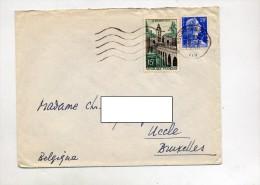 Lettre Flamme Muette Bourg En Bresse Sur Quesnoy - Mechanical Postmarks (Advertisement)