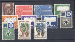 CEPT 1957  Lotto Usati - Europa-CEPT
