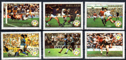 BELIZE  N° 624/29  * *  ( Cote 16e )   Cup1982   Football  Soccer Fussball - Coupe Du Monde