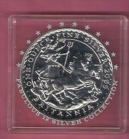 ENGELAND 2 POUNDS 2009 1 OZ SILVER BU - 1952-… : Elizabeth II