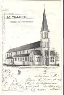 Marcinelle (Charleroi) : La Villette - Eglise En Construction (vendue Au Profit De L´église à ériger) - Charleroi
