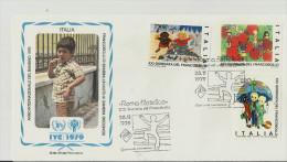 UNO  1979 ITALIA - Briefmarken