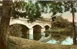 Cim  Souesmes - Le Pont De Sauldre- Verso  Timbres Moissonneuse Lilas 1116-Blason,  Aunis 1004 Cachet 1958 - Frankrijk