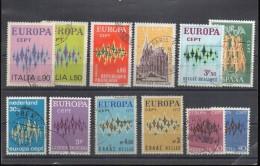 CEPT 1972  Lotto Usati - Europa-CEPT