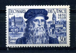 N° 929 Léonard DE VINCI Neuf ** - France