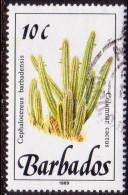 BARBADOS 1989 SG #892 10c VF Used Wild Plants Imprint 1989 - Barbades (1966-...)