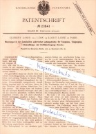 Original Patent - C. Labye Et L. De Locht-Labye à Paris , 1881 , Conducteurs Pour Téléphone !!! - Historische Dokumente