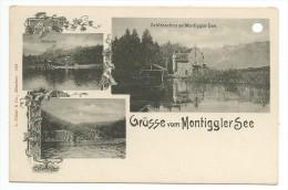 GRUSSE  VOM MONTIGGLERSEE - Trento