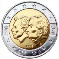 201 - ** 2 EURO COMMEMORATIVE - UNC - BELGIQUE 2005 - Belgio