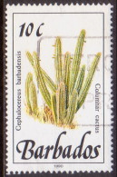BARBADOS 1990 SG #923 10c VF Used Wild Plants Imprint 1990 - Barbados (1966-...)