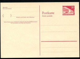 BERLIN P37 Postkarte Henry-Ford-Bau ** 1957  Kat. 10,00 € - Postcards - Mint