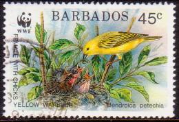 BARBADOS 1991 SG #950 45c VF Used Endangered Species - Barbados (1966-...)