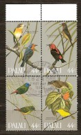 Palau 1986 Yvertn° 87-90 (°) Used Cote 7 Euro Faune Oiseaux Vogels Birds - Palau