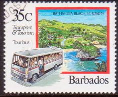 BARBADOS 1992 SG #984 35c VF Used Transport & Tourism - Barbados (1966-...)