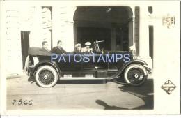 3343 REAL PHOTO AUTOMOBILE CAR SEDAN AND DRIVER YEAR 1925 POSTAL POSTCARD - Ansichtskarten