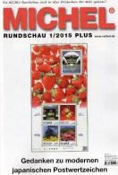 Briefmarken Rundschau MICHEL 1/2015-plus Neu 6€ New Stamps World Catalogue And Magacine Of Germany ISBN 9 783954 025503 - Sonstige