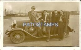 3346 REAL PHOTO AUTOMOBILE CAR SEDAN AND MAN'S  POSTAL POSTCARD - Ansichtskarten