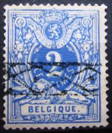 BELGIQUE              N° 27                OBLITERE - 1869-1888 Lying Lion