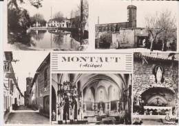 MONTAUT -(09)- CARTE A PUSIEURS PHOTOS.L - Francia
