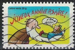 France 2014 Oblitéré Used Stamp Bonne Année Toute L'année Joyeux Anniversaire Y&T 1055 - France