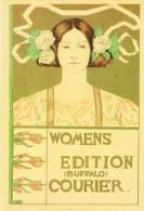 Affiches 8/6 En Cartes Postales Modernes A.R. Glenny Women Edition Buffalo Courier Affiche - Advertising