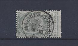 N°53 GESTEMPELD Malines (Station) SUPERBE - 1893-1907 Coat Of Arms