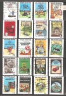 RRRRR   Herge 2007 Kuifje Tintin Tim und Stroppi  exceptional collection 3636-3660 Belgium