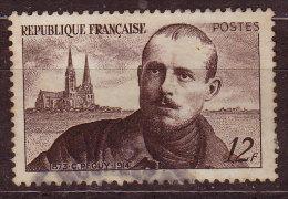 FRANCE - 1950 - YT  N° 865  - Oblitéré - Peguy - France