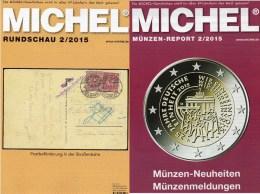 Briefmarken MICHEL Rundschau 2/2015 Neu 6€ New Stamp Of The World Catalogue And Magacine Of Germany ISBN 9 783954 025503 - Pin's & Anstecknadeln