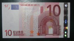 10 EURO E006E3 Germany  Draghi Serie X78  Perfect UNC - EURO