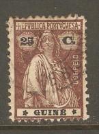 PORTUGESE GUINEA    Scott  # 163  VF USED - Portuguese Guinea