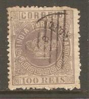 PORTUGESE INDIA    Scott  # 62 F USED - Portuguese India
