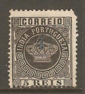 PORTUGESE INDIA    Scott  # 158  F USED - Portuguese India