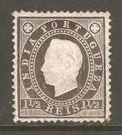 PORTUGESE INDIA    Scott  # 174*  VF MINT LH - Portuguese India