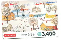 Japon - Titre De Transport Nishitestu : Illustrateur Konstantin Rodko - Chemins De Fer
