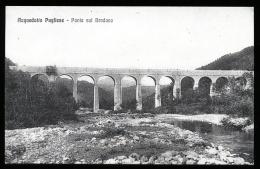 PESCOPAGANO - ATELLA - RAPONE (POTENZA) - ANNI 30-40  PONTE DELL'ACQUEDOTTO PUGLIESE SUL BRADANO