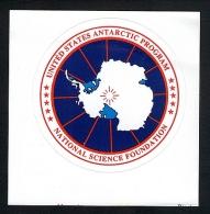 Antarctica Science Program Decal - Stamps