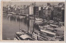 CARTE POSTALE ANCIENNE,83,VAR,TOULON EN 1947,QUAI,PORT,voilier - Toulon
