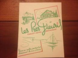 Lugrin Les Près Fleuris Chalet Hotel Restaurant - France