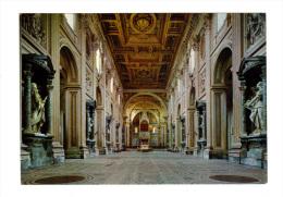 Italie: Roma, Rome, Basilica Di S. Giovanni In Laterano, Interno, Basilique De Saint Jean In Laterano, Interieur (15-849 - Roma