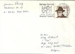 Deutschland 1976 Bad Soden Salmünster >> Battel Mechelen B / Coeur Hart Herz Rheuma Catarrh Katarrh / Europa - Termalismo