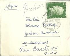 Saarland 1958 Saarbrucken >> Berchem B - Lettres & Documents