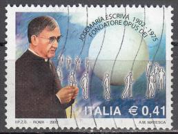 Italy    Scott No  2474    Used    Year 2002 - 2001-10: Used