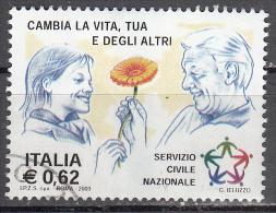 Italy    Scott No  2534    Used    Year 2003 - 2001-10: Used