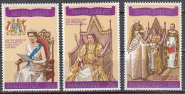 Mauritius  Scott No  433-35   Mnh   Year 1977 - Mauritius (1968-...)
